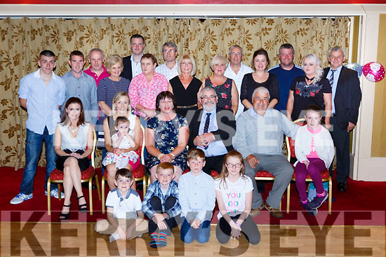 Mary Keane Millstreet who celebrated her 50th birthday and her brother Danny O'Mahony celebrated his 60th in the Killarney Avenue Hotel on Saturday