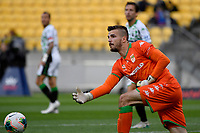 Filip Kurto of Western United FC during the A League - Wellington Phoenix v Western United FC at Sky Stadium, Wellington, New Zealand on Friday 21 February 2020. <br /> Photo by Masanori Udagawa. <br /> www.photowellington.photoshelter.com