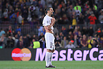 21.04.2015 Barceloona. UEFA Champions League, Quarter-finals 2nd leg. Picture show Zlatan Ibrahivomic in action during game between FC Barcelona against Paris Saint-Germain at Camp Nou
