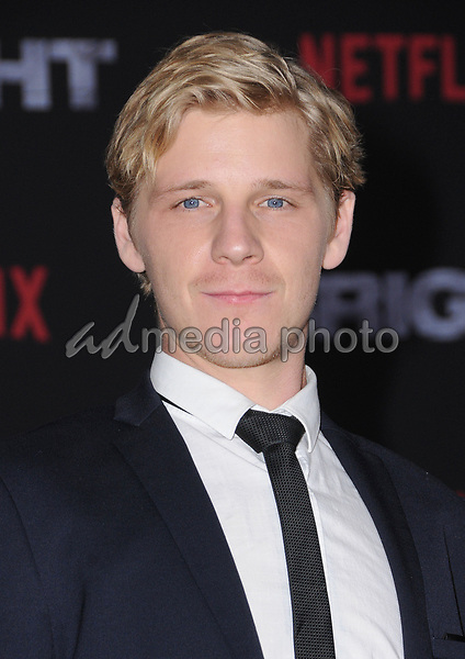 "13 December  2017 - Westwood, California - Daniel Webber. Netflix's ""Bright"" Los Angeles Premiere held at Regency Village Theatre in Westwood. Photo Credit: Birdie Thompson/AdMedia"
