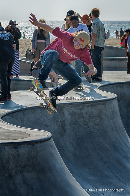 Venice Beach California Skate Park.