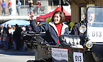 Nevada Attorney General Catherine Cortez Masto waves to the crowd during the Nevada Day parade on Saturday, Oct. 30, 2010, in Carson City, Nev. .Photo by Cathleen Allison
