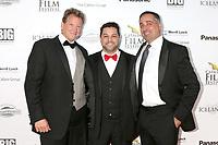 LOS ANGELES - SEP 30:  Charlie Jones, Ron Truppa, Carl Cafaro at the Catalina Film Festival - September 30 2017 at the Casino on Catalina Island on September 30, 2017 in Avalon, CA