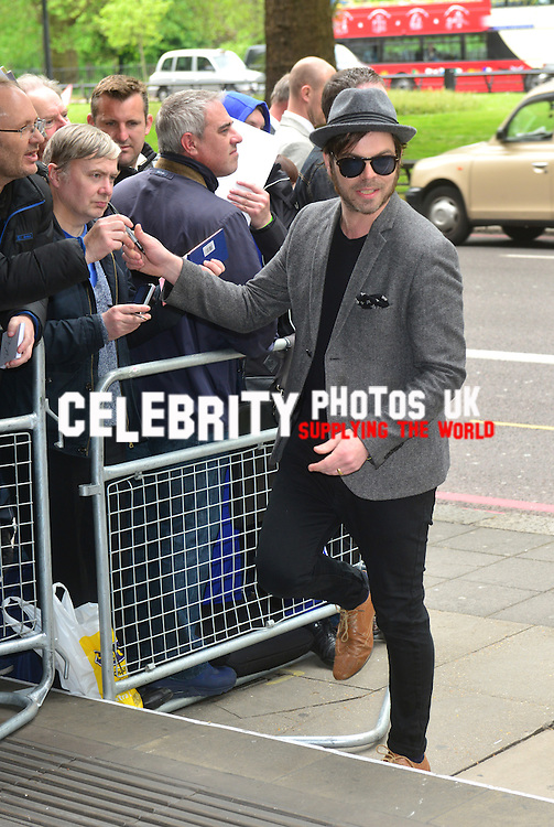 Gaz Coombes  at the Ivor Novello Awards at the Grosvenor House Hotel, Park Lane, London on May 19th 2016