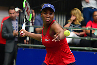 Washington, DC - July 25, 2018:  Venus Williams of the Washington Kastles plays in a Women's Singles match against Naomi Broady of the San Diego Aviators July 25, 2018.  (Photo by Don Baxter/Media Images International)