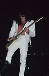 Steve Stevens performing with Billy Idol at The Los Angeles Forum, Inglewood , Ca . May 1987