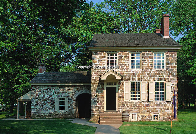 Gen. Washington's Headquarters at Valley Forge National Historical Park, Pennsylvania, USA