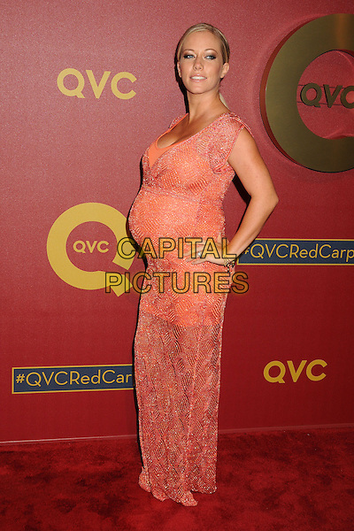28 February 2014 - Los Angeles, California - Kendra Wilkinson-Baskett. QVC Presents Red Carpet Style held at the Four Seasons Hotel. <br /> CAP/ADM/BP<br /> &copy;Byron Purvis/AdMedia/Capital Pictures