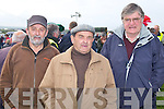 RACES: Having fun at the Ballybunion races on Sunday l-r: Sean Stack and Andrew Pierce, Ballybunion .and Colm Callaghan, Moyvane...
