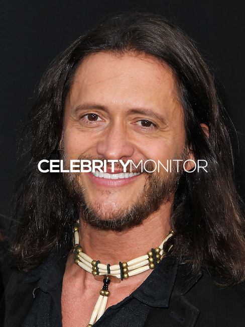"""WESTWOOD, LOS ANGELES, CA, USA - APRIL 10: Clifton Collins Jr. at the Los Angeles Premiere Of Warner Bros. Pictures And Alcon Entertainment's """"Transcendence"""" held at Regency Village Theatre on April 10, 2014 in Westwood, Los Angeles, California, United States. (Photo by Xavier Collin/Celebrity Monitor)"""