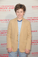 Nolan Gould at the premiere of Columbia Pictures' 'The Amazing Spider-Man' at the Regency Village Theatre on June 28, 2012 in Westwood, California. &copy; mpi35/MediaPunch Inc. /*NORTEPHOTO.COM*<br />