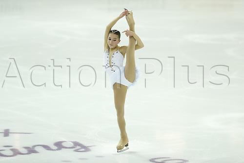 09.12.2016. Palais Omnisports, Marseille, France. ISU Junior Figure Skating Grand Prix Final.  Elizaveta Nugumanova (JPN) competes in the Women's Free Program.