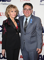 BEVERLY HILLS, CA - DECEMBER 3: Jane Fonda, Hector Villagra, at ACLU SoCal's Annual Bill Of Rights Dinner at the Beverly Wilshire Four Seasons Hotel in Beverly Hills, California on December 3, 2017. Credit: Faye Sadou/MediaPunch /NortePhoto.com NORTEPHOTOMEXICO