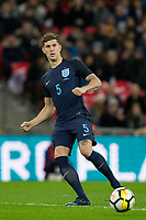 John Stones (Manchester City) of England during the International Friendly match between England and Germany at Wembley Stadium, London, England on 10 November 2017. Photo by Andy Rowland.