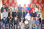 BABY JOY: Proud parents Declan and Bernie O'Callaghan, Causeway (seated centre) of little Kyle who was Christened in St John's Church, Causeway by Fr Brendan Walsh and celebrated afterwards with family and friends at Ballyroe Heights hotel on Saturday...