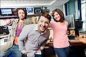 2010 - Virgin Radio.<br /> Bruno Guillon/Christina/Florian Gazan