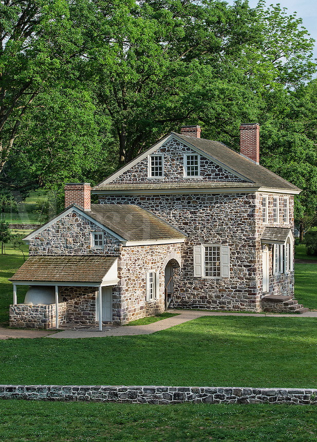 Washington's Headquarters at Valley Forge, Pennsylvania, USA