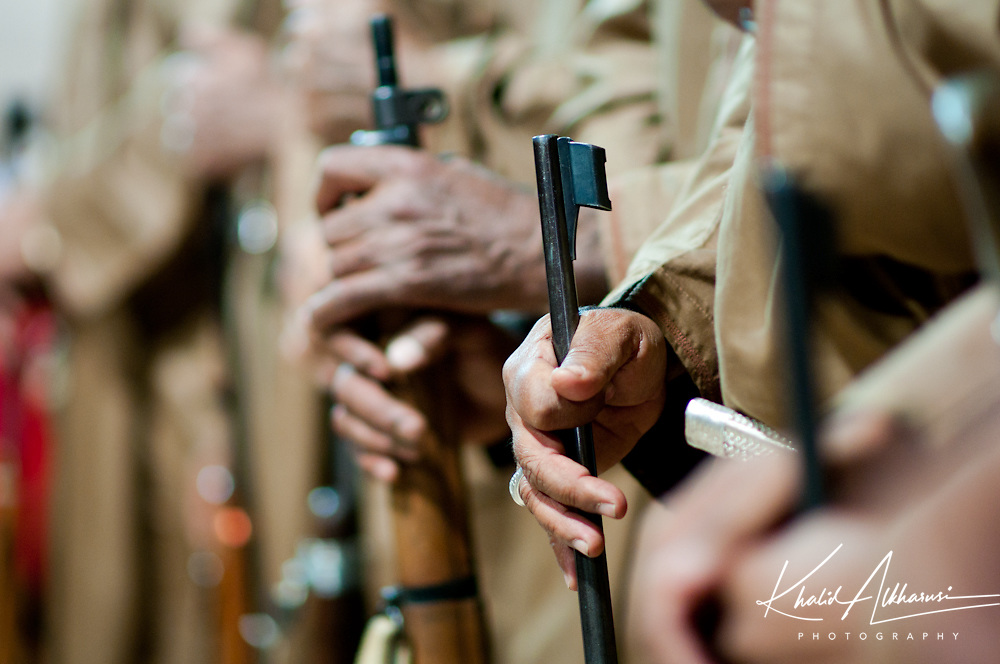 Omani Man With Rifle , Oman