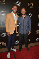 MIAMI GARDENS, FL - DECEMBER 02: Jason Taylor and Channing Crowder attend The Miami Dolphins 'Hall of Fame Celebration' hosting Jason Taylor at Hard Rock Stadium on December 02, 2017 in Miami Gardens, Florida. Credit: MPI10 / MediaPunch