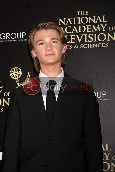 LOS ANGELES - JUN 22:  Daniel Polo at the 2014 Daytime Emmy Awards Arrivals at the Beverly Hilton Hotel on June 22, 2014 in Beverly Hills, CA