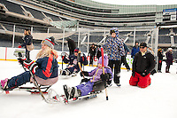 Ice Skating at Soldier Field