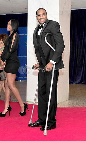Kevin Ware arrives for the 2013 White House Correspondents Association Annual Dinner at the Washington Hilton Hotel on Saturday, April 27, 2013.<br /> Credit: Ron Sachs / CNP<br /> (RESTRICTION: NO New York or New Jersey Newspapers or newspapers within a 75 mile radius of New York City) /MediaPunch