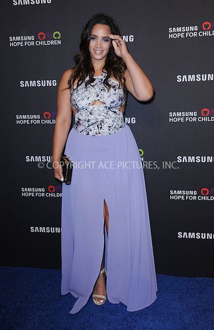 WWW.ACEPIXS.COM<br /> September 17, 2015 New York City<br /> <br /> Dascha Polanco attending the Samsung Hope for Children Gala 2015 at Hammerstein Ballroom on September 17, 2015 in New York City.<br /> <br /> Credit: Kristin Callahan/ACE Pictures<br /> <br /> Tel: (646) 769 0430<br /> e-mail: info@acepixs.com<br /> web: http://www.acepixs.com