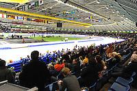 SCHAATSEN: HEERENVEEN: IJsstadion Thialf, 09-11-2012, KPN NK afstanden, Seizoen 2012-2013, overzicht Thialf, ©foto Martin de Jong