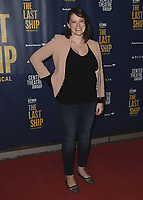 """LOS ANGELES - JANUARY 22:  Rachel Bloom at the opening night of """"The Last Ship"""" on January 22, 2020 at the Ahmanson Theatre in Los Angeles, California. (Photo by Scott Kirkland/PictureGroup)"""
