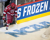 Lewis Zerter-Gossage (Harvard - 77) - The University of Minnesota Duluth Bulldogs defeated the Harvard University Crimson 2-1 in their Frozen Four semi-final on April 6, 2017, at the United Center in Chicago, Illinois.