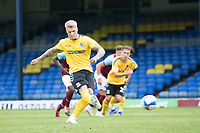 Stephen Humphrys, Southend United, with a penalty which is saved during Southend United vs West Ham United Under-21, EFL Trophy Football at Roots Hall on 8th September 2020