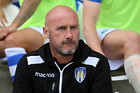 Colchester United manager John McGreal during Colchester United vs Stevenage, Sky Bet EFL League 2 Football at the Weston Homes Community Stadium on 12th August 2017