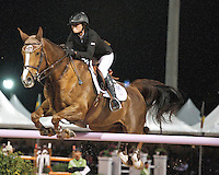 Cylana ridden by 17 year old Reed Kessler in 3 way tie for first after USEF Trial #3,  USEF trials Wellington Florida. 3-22-2012