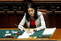 The Minister of Instruction Lucia Azzolina during her information at the Chamber of Deputies, about the measures to contrast the Covid-19 pandemic at the reopening of the schools in September.<br /> Rome (Italy), July 28th 2020