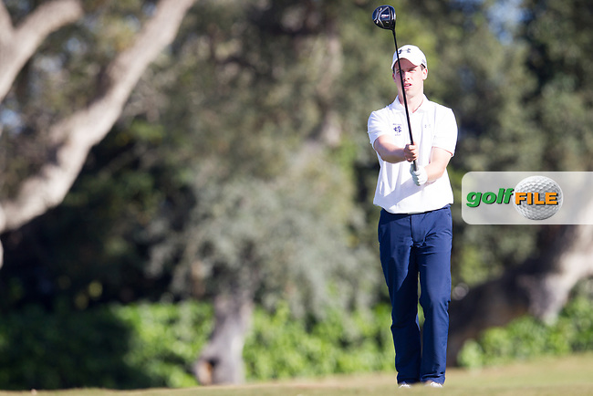 Alex Gleeson (IRL) during the 1st round of the European Nations Cup, Real Club de Golf Sotogrande, Paseo del Parque, 11310 Sotogrande, C&aacute;diz  29/03/2017.<br /> Picture: Golffile | Fran Caffrey<br /> <br /> <br /> All photo usage must carry mandatory copyright credit (&copy; Golffile | Fran Caffrey)