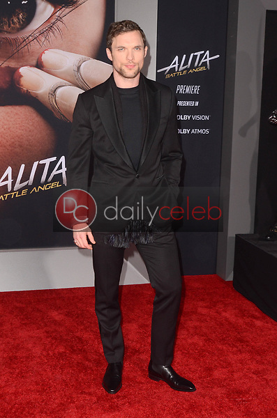 "Ed Skrein<br /> at the ""Alita Battle Angel"" Premiere, Village Theater, Westwood, CA 02-05-19<br /> David Edwards/DailyCeleb.com 818-249-4998"