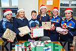 l-r  Sinead Hanrahan, Sarah Moore, Barry O'Neill, Sarah Jane Carmody, Rachel Mulvihill and Leah Moriarty. at the St. Joseph's Secondary School, Ballybunion  Annual Christmas Fair on Monday