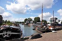 Nederland Utrecht 2018. Schepen in de Veilinghaven.  Foto Berlinda van Dam / Hollandse Hoogte