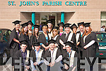 Students who graduated as health care assistants with FETEC Level 5 certificates at their graduation ceremony at St John's Parish centre last Friday. 18 students took part in the training course which was provided by Comhchiste Gaeltacht Uibh Rathaigh on behalf of Fa?s.