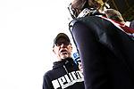 11.03.2018, Signal Iduna Park, Dortmund, GER, 1.FBL, Borussia Dortmund vs Eintracht Frankfurt, <br /> <br /> im Bild | picture shows:<br /> Peter St&ouml;ger | Stoeger (Trainer Borussia Dortmund) im Interview mit dem WDR, <br /> <br /> <br /> Foto &copy; nordphoto / Rauch