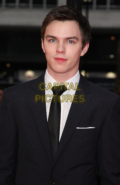 NICHOLAS HOULT .World Premiere of 'Clash of the Titans' at the Empire cinema, Leicester Square, London, England, March 29th 2010..arrivals portrait headshot black suit tie white shirt .CAP/ROS.©Steve Ross/Capital Pictures