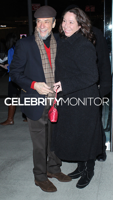 """NEW YORK CITY, NY, USA - FEBRUARY 26: F. Murray Abraham, Jamili Abraham at the New York Premiere of Fox Searchlight Pictures' """"The Grand Budapest Hotel"""" held at Alice Tully Hall on February 26, 2014 in New York City, New York, United States. (Photo by Jeffery Duran/Celebrity Monitor)"""