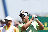 Kiradech Aphibarnrat (THA) tees off on the first hole during the final round of the 118th U.S. Open Championship at Shinnecock Hills Golf Club in Southampton, NY, USA. 17th June 2018.<br /> Picture: Golffile | Brian Spurlock<br /> <br /> <br /> All photo usage must carry mandatory copyright credit (&copy; Golffile | Brian Spurlock)