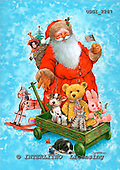 GIORDANO, CHRISTMAS SANTA, SNOWMAN, WEIHNACHTSMÄNNER, SCHNEEMÄNNER, PAPÁ NOEL, MUÑECOS DE NIEVE, paintings+++++,USGI2287,#X#