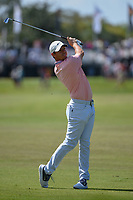 Rory McIlroy (NIR) watches his approach shot on 1 during round 3 of the Arnold Palmer Invitational at Bay Hill Golf Club, Bay Hill, Florida. 3/9/2019.<br /> Picture: Golffile | Ken Murray<br /> <br /> <br /> All photo usage must carry mandatory copyright credit (© Golffile | Ken Murray)