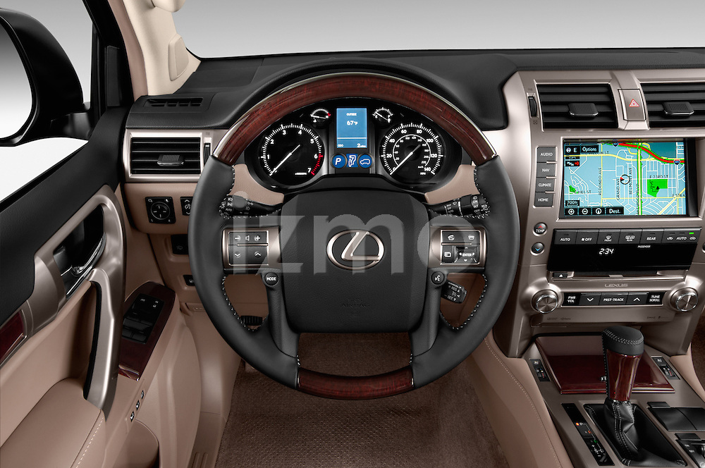 Car pictures of steering wheel view of a 2017 Lexus GX 460 5 Door SUV Steering Wheel
