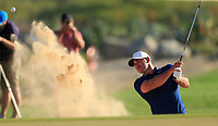 Brooks Koepka (USA) during the 2nd round of the Abu Dhabi HSBC Championship, Abu Dhabi Golf Club, Abu Dhabi,  United Arab Emirates. 17/01/2020<br /> Picture: Oisin Keniry   Golffile<br /> <br /> <br /> All photo usage must carry mandatory copyright credit (© Golffile   Oisin Keniry)
