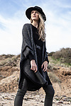 Sunday Mail Fashion with Mirella. Winter Knitson location at Hallett Cove.   Photo: Nick Clayton