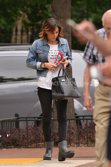www.acepixs.com<br /> <br /> June 23 2016, New York City<br /> <br /> TV personality Bethenny Frankel wears a statement on her tee shirt as she walks in Tribeca on June 23 2016 in New York City<br /> <br /> By Line: Curtis Means/ACE Pictures<br /> <br /> <br /> ACE Pictures Inc<br /> Tel: 6467670430<br /> Email: info@acepixs.com<br /> www.acepixs.com