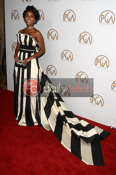 Janelle Monae<br /> at the 2017 Producers Guild Awards, Beverly Hilton Hotel, Beverly Hills, CA 01-28-17<br /> David Edwards/DailyCeleb.com 818-249-4998